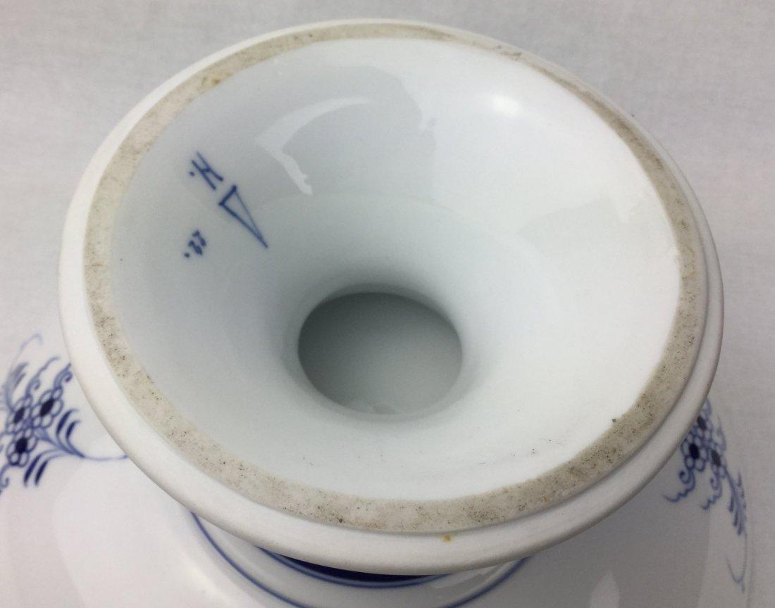 Meissen Blue Onion Pedistal Bowl - 2