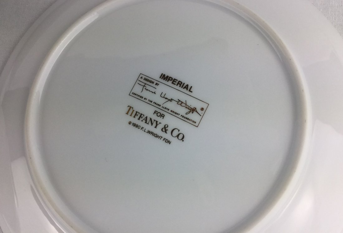 FRANK LLOYD WRIGHT Imperial by Tiffany & Co. Set of 4 - 2