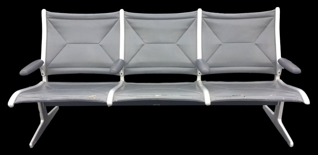 Herman Miller 3 Seat Airport Bench