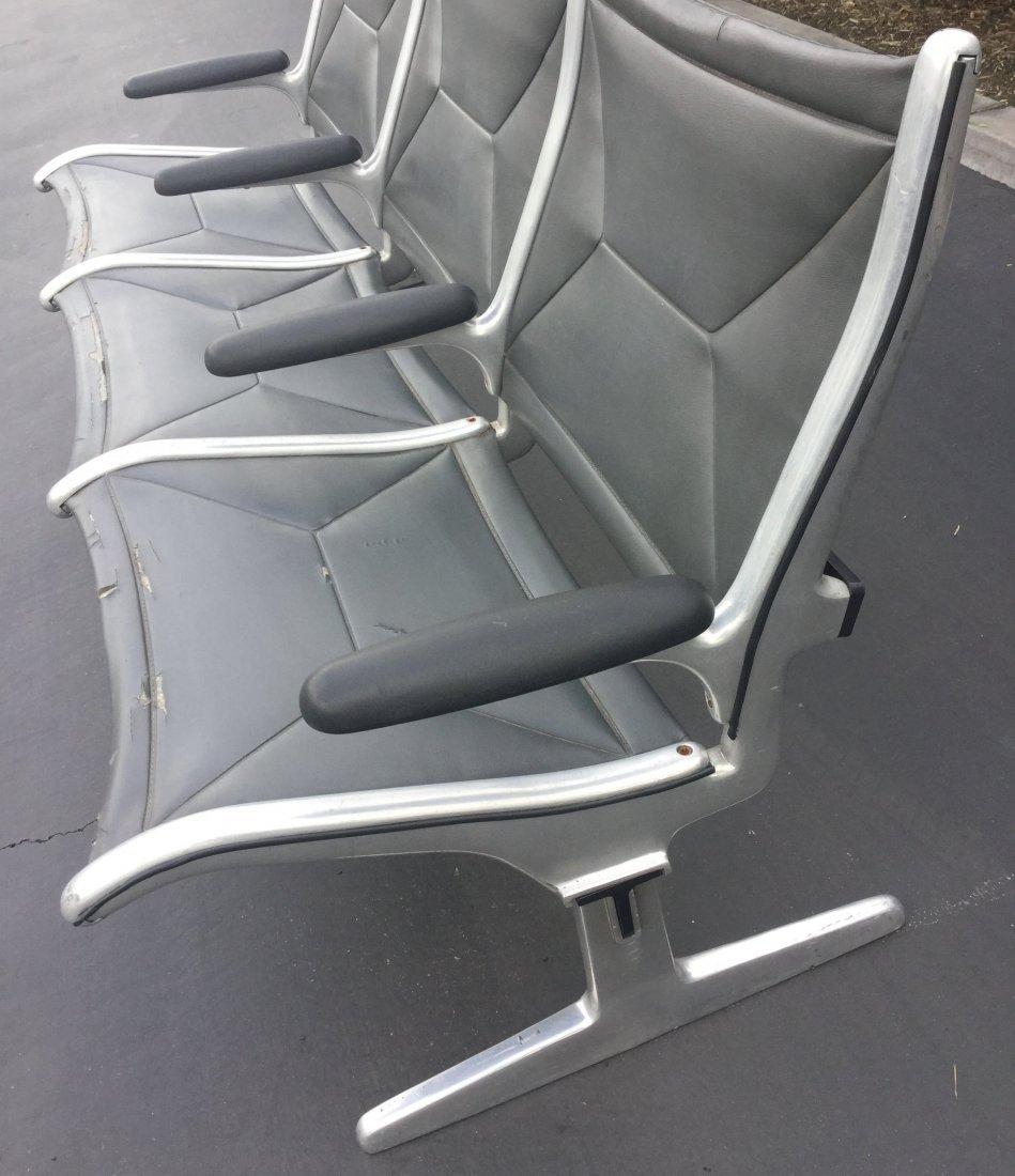 Herman Miller 3 Seat Airport Bench - 3