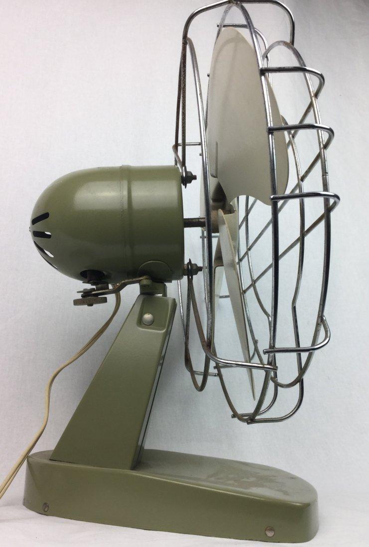 Mid Century Avocado Fan by Superior - 2