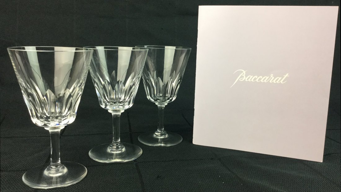 Baccarat Crystal Stemware with Cocktail Catalog