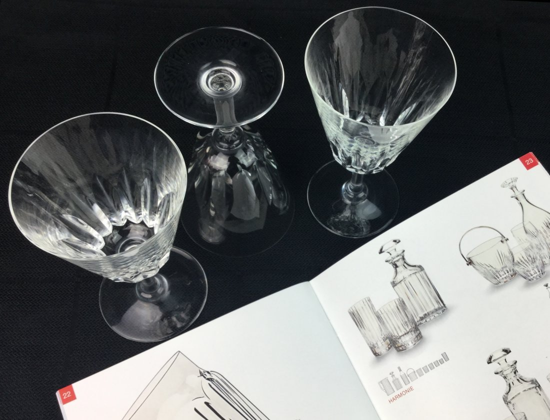 Baccarat Crystal Stemware with Cocktail Catalog - 2