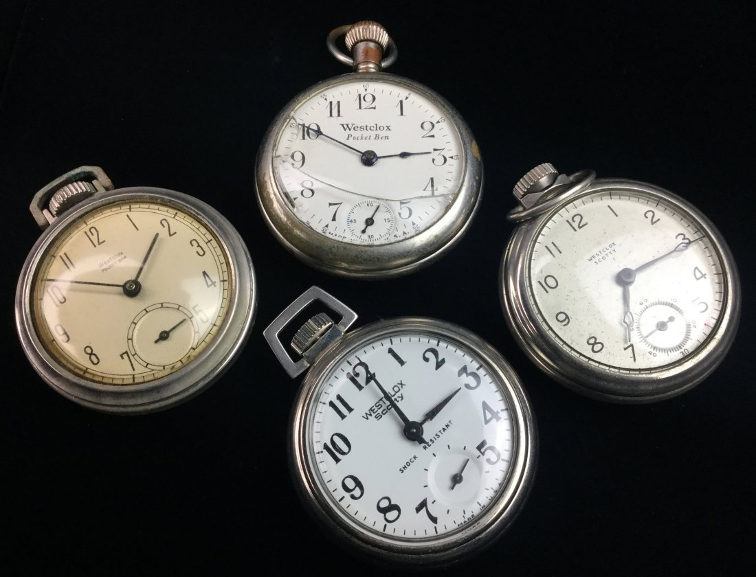 Westclox Vintage Pocket Watch Collection