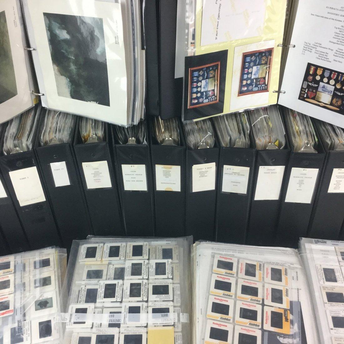 Famed Antique Collector Peggy Kerstner's Cataloging