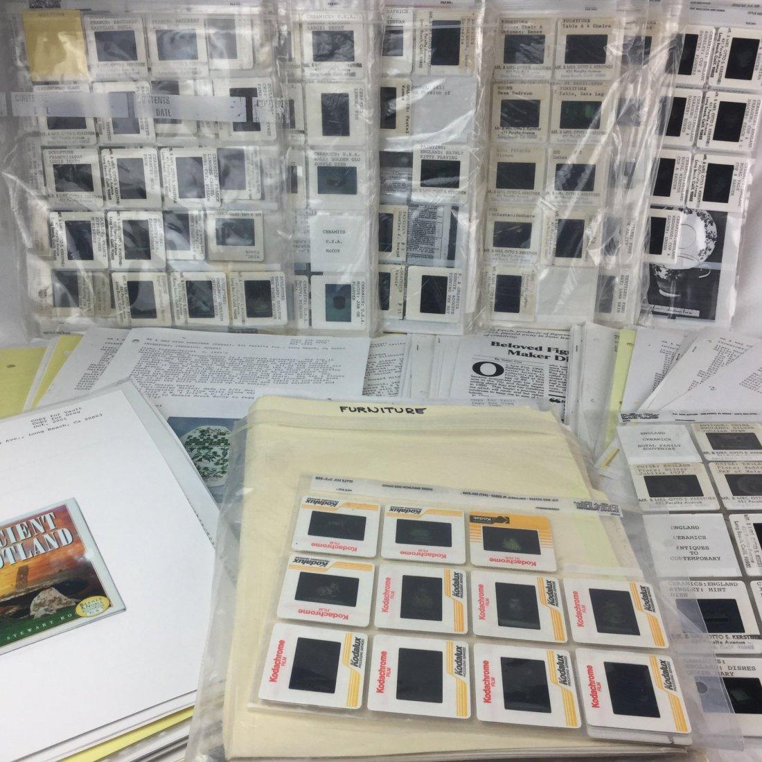 Famed Antique Collector Peggy Kerstner's Cataloging - 5