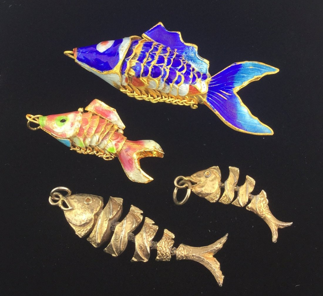 4 Fish Pendant Collection