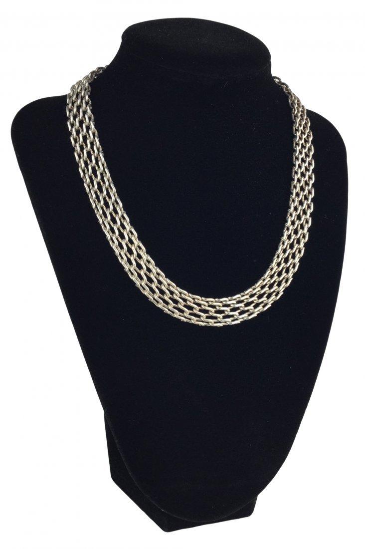 Vintage 925 Sterling Silver Necklace
