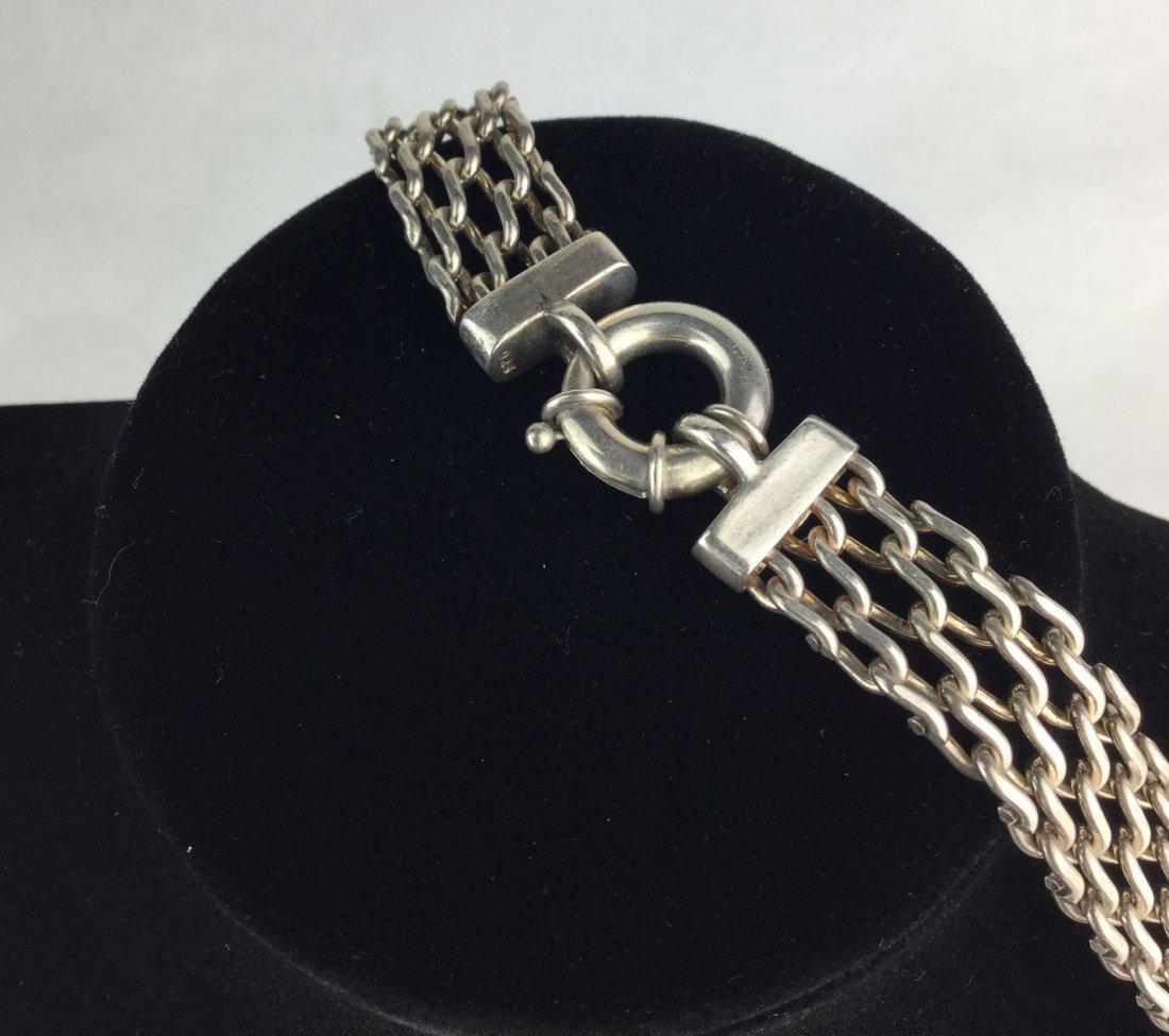Vintage 925 Sterling Silver Necklace - 2