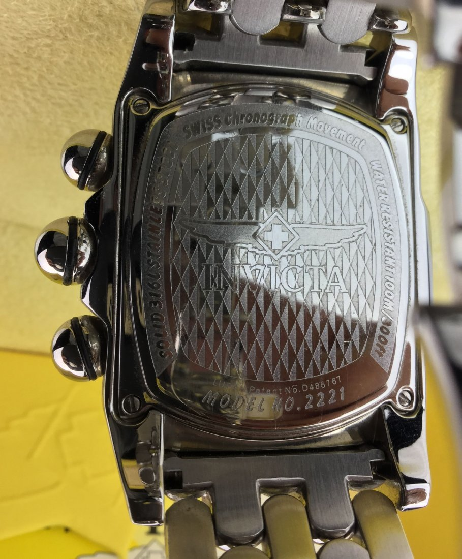 INVICTA Watch with Amazing Lupah model 2221 - 4