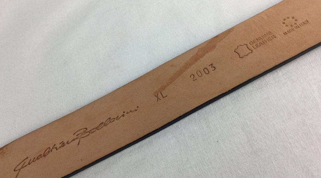 Amazing Qualheim Bollorini Italian Leather Belt - 2