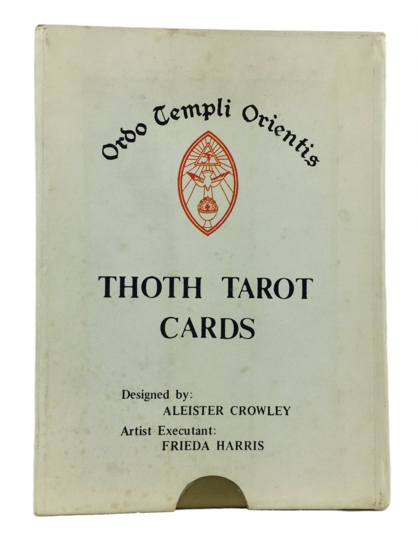 Tarot Cards by Famous Magician Aleister Crowley