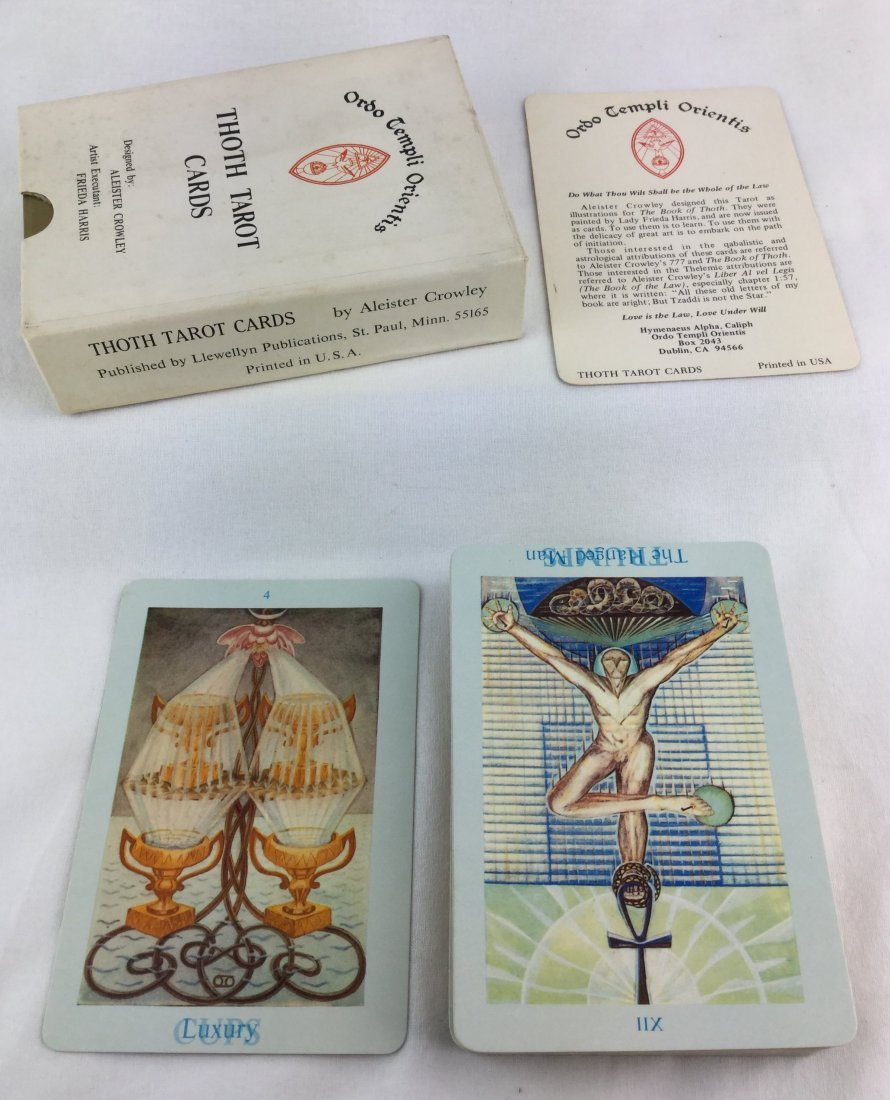 Tarot Cards by Famous Magician Aleister Crowley - 4