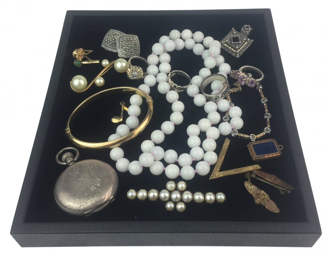 Vintage Estate Jewelry with Sterling & Signed Pieces