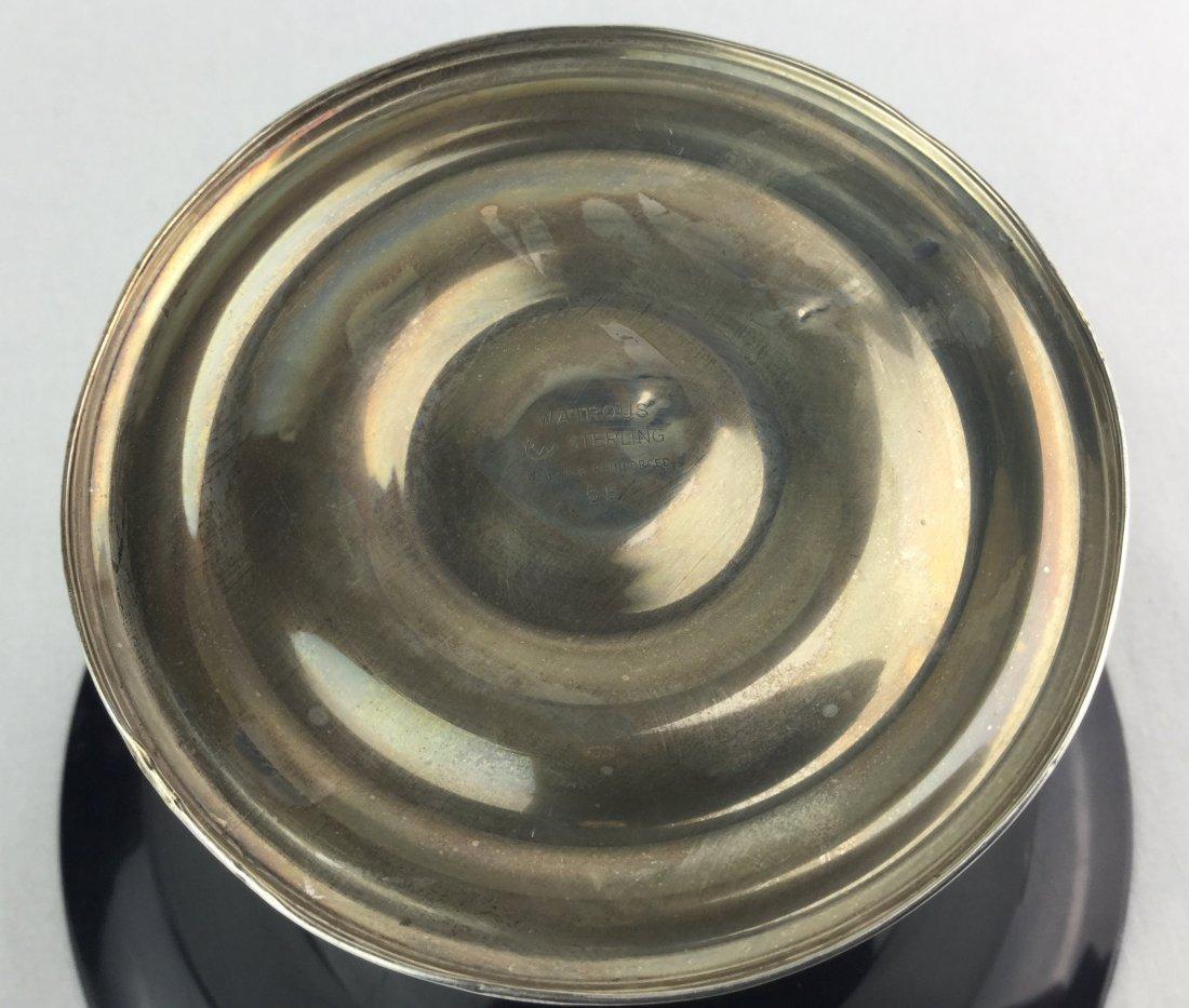 Watrous Sterling Silver Black Pedestal Dish - 2