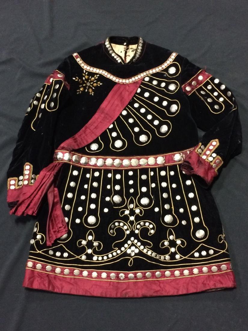7 Pieces Black Odd Fellows Costume Clothing - 5