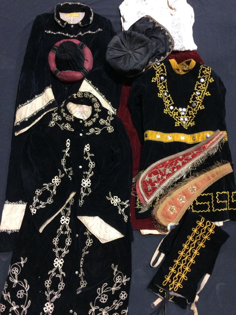 10 Pieces Odd Fellows Costume Clothing -- Masonic Lodge