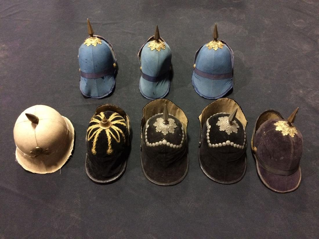 "8 Pieces Odd Fellows ""Hats"" -- Fraternal Organizations"