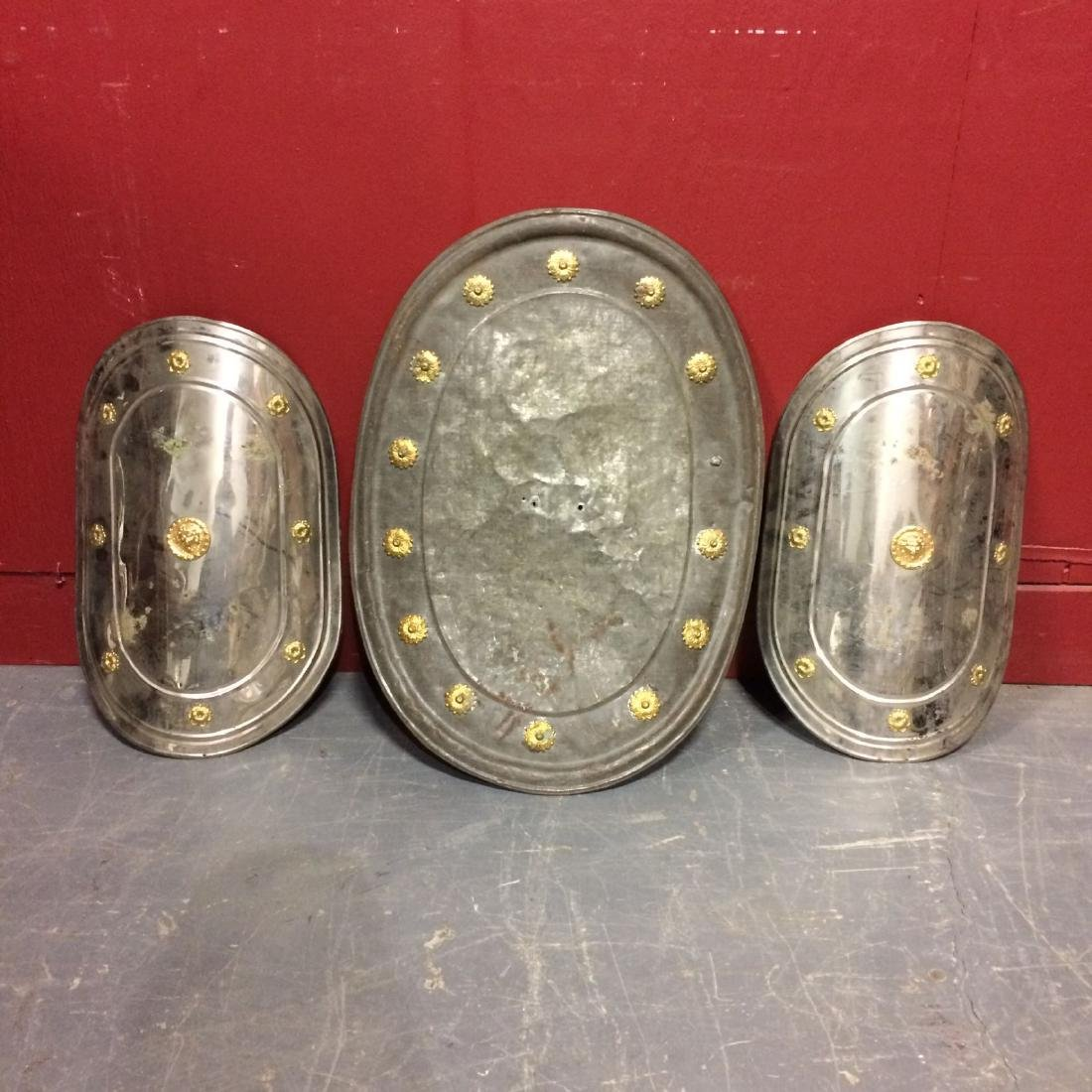 Three Odd Fellows Ceremonial Shields