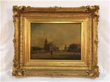 Original 18th Century Oil on Canvas by Hendrik Keun