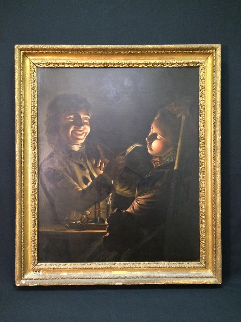 Original Oil On Canvas by Henry Robert Morland