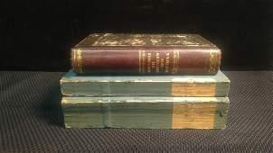 3V ANTIQUE HISTORY BOOKS  Tableau Des Guerres
