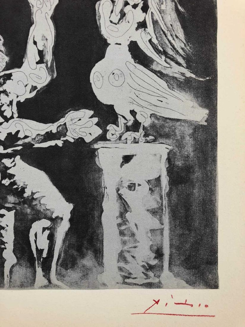 """SUITE VOLLARD"" Lithograph Pencil Signed ""Picasso"" - 5"