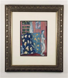 Henri Matisse (French, 1869-1954) -- Hand Painted