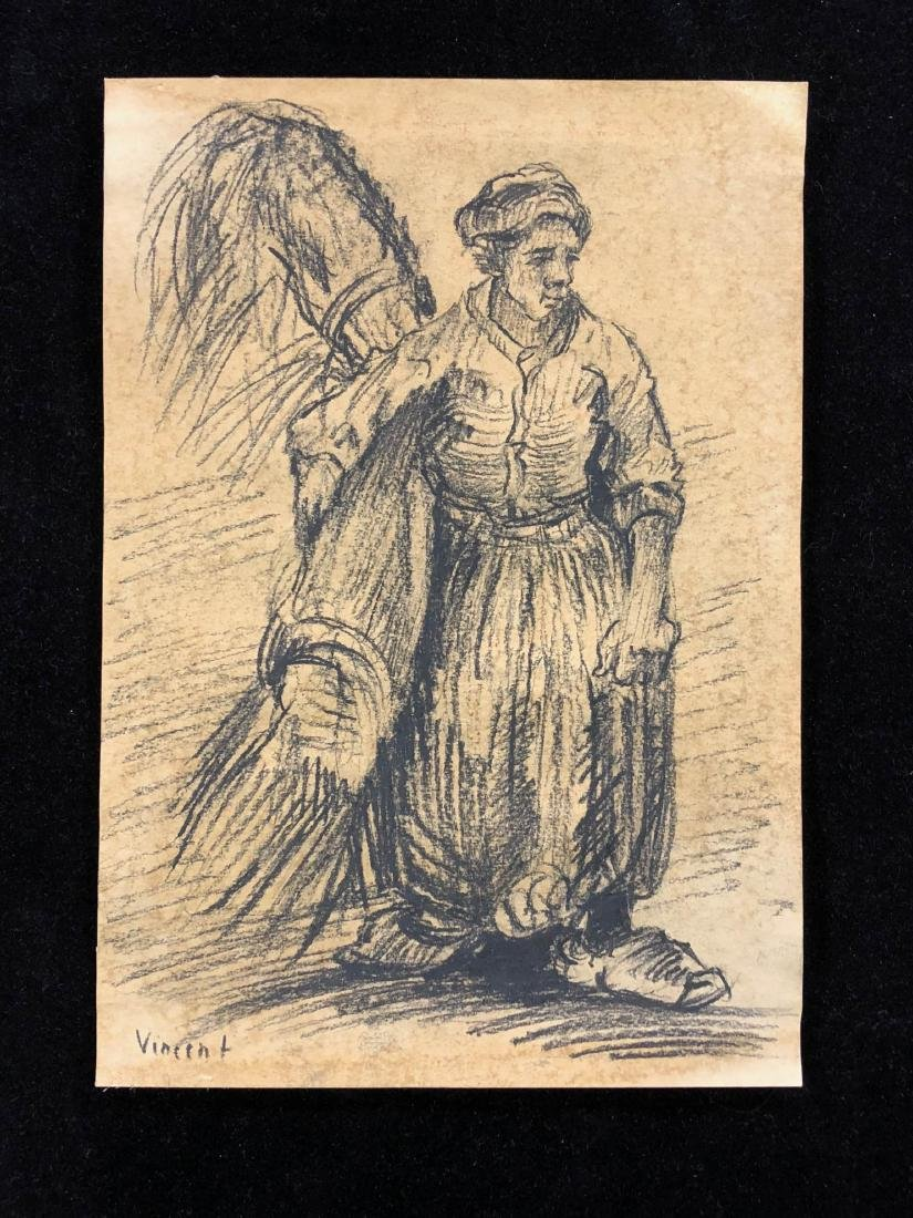 Vincent van Gogh (Dutch, 1853 - 1890) -- Hand Hand