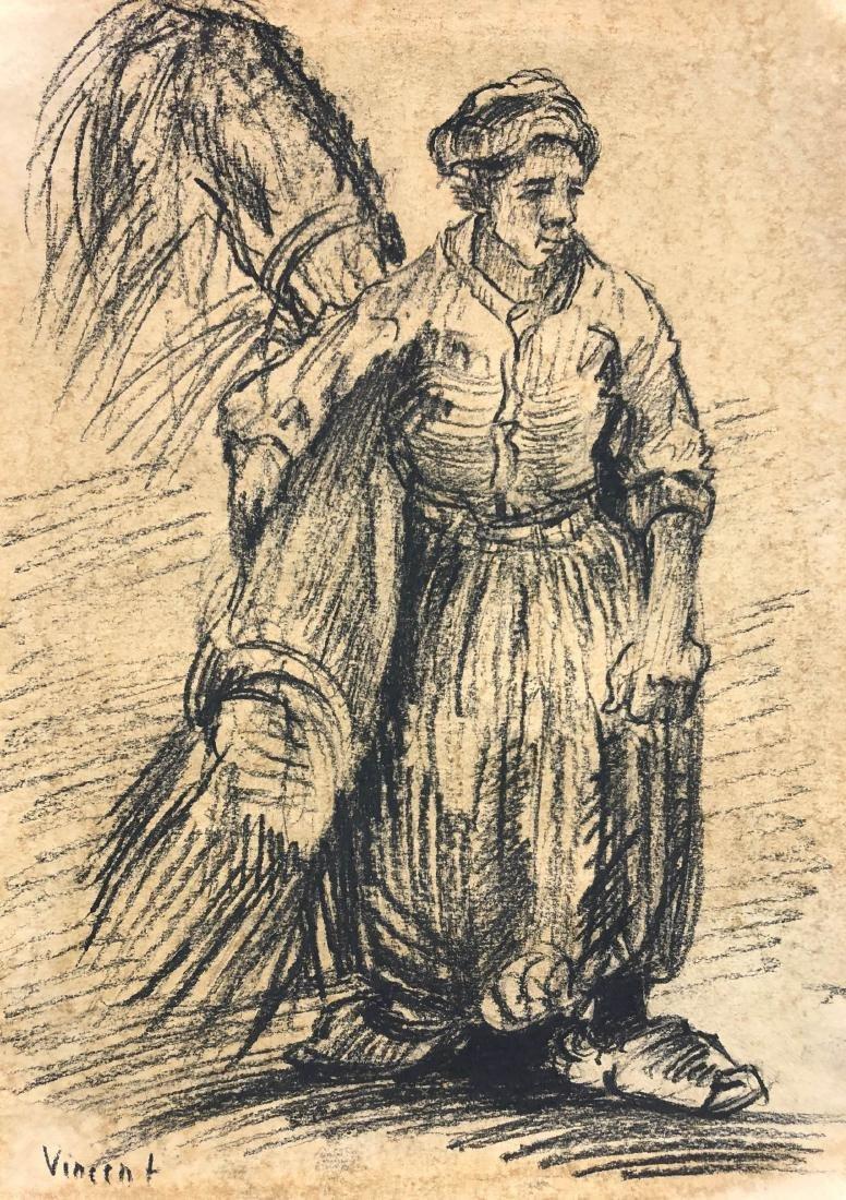 Vincent van Gogh (Dutch, 1853 - 1890) -- Hand Hand - 2