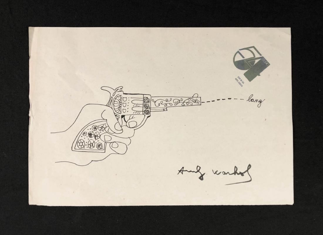 Andy Warhol (American, 1928-1987) -- Hand Drawn / Hand