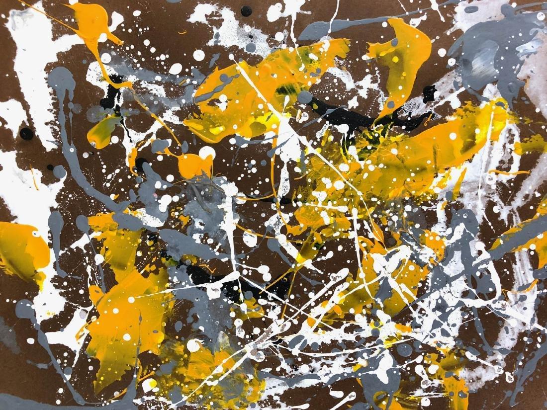 Jackson Pollock (American, 1912-1956) -- Hand Signed - 3
