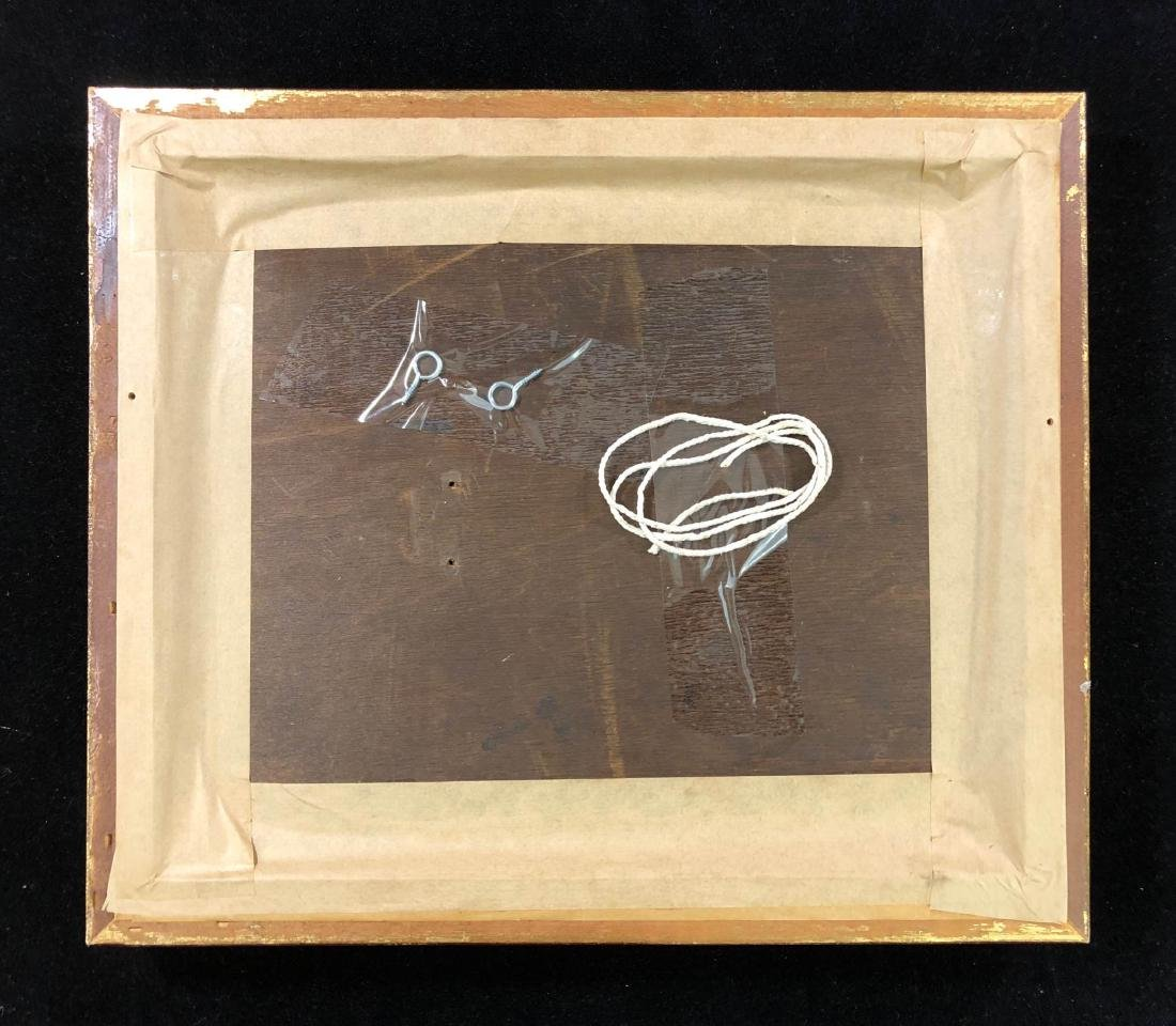Ronald Cavalla (British - b.1940)  Hand Painted Oil on - 6