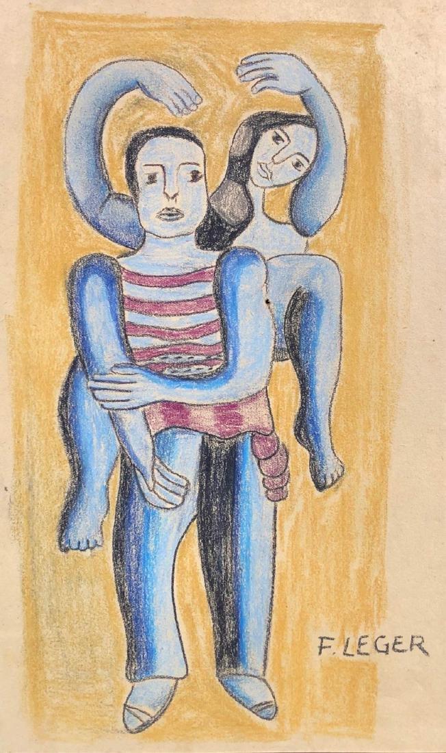 Fernand Leger (French, 1881-1955) -- Hand-Drawn