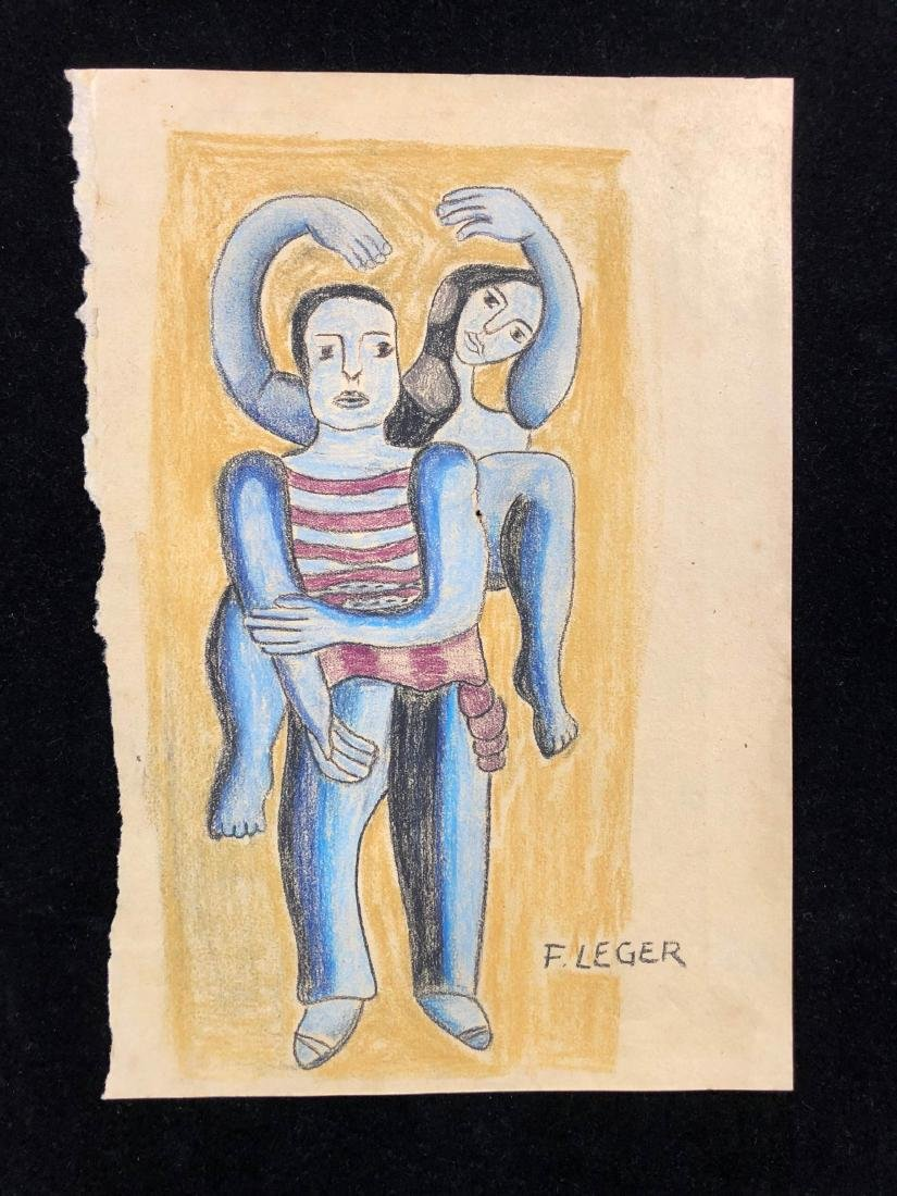Fernand Leger (French, 1881-1955) -- Hand-Drawn - 2