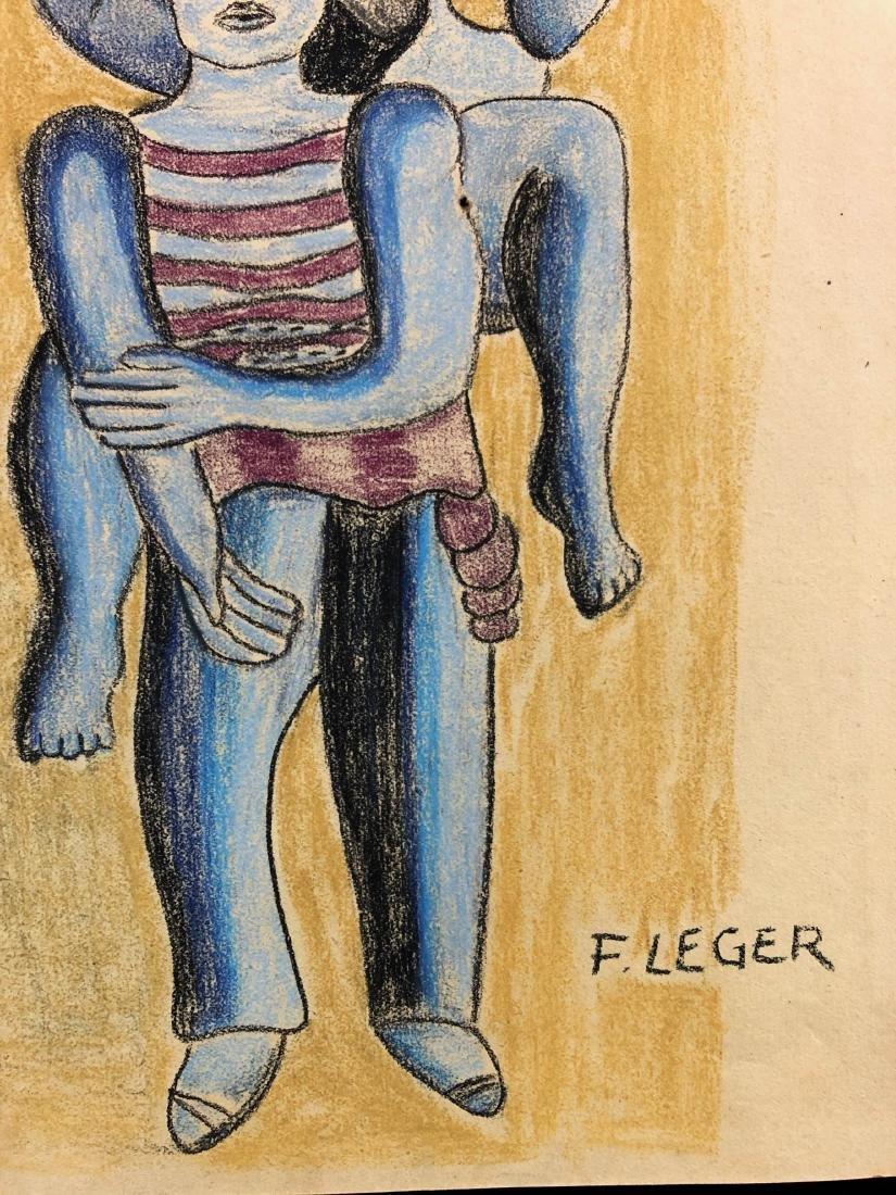 Fernand Leger (French, 1881-1955) -- Hand-Drawn - 3