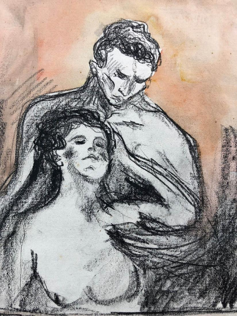 Edvard Munch (Norwegian, 1863-1944) -- Hand Drawn and - 2
