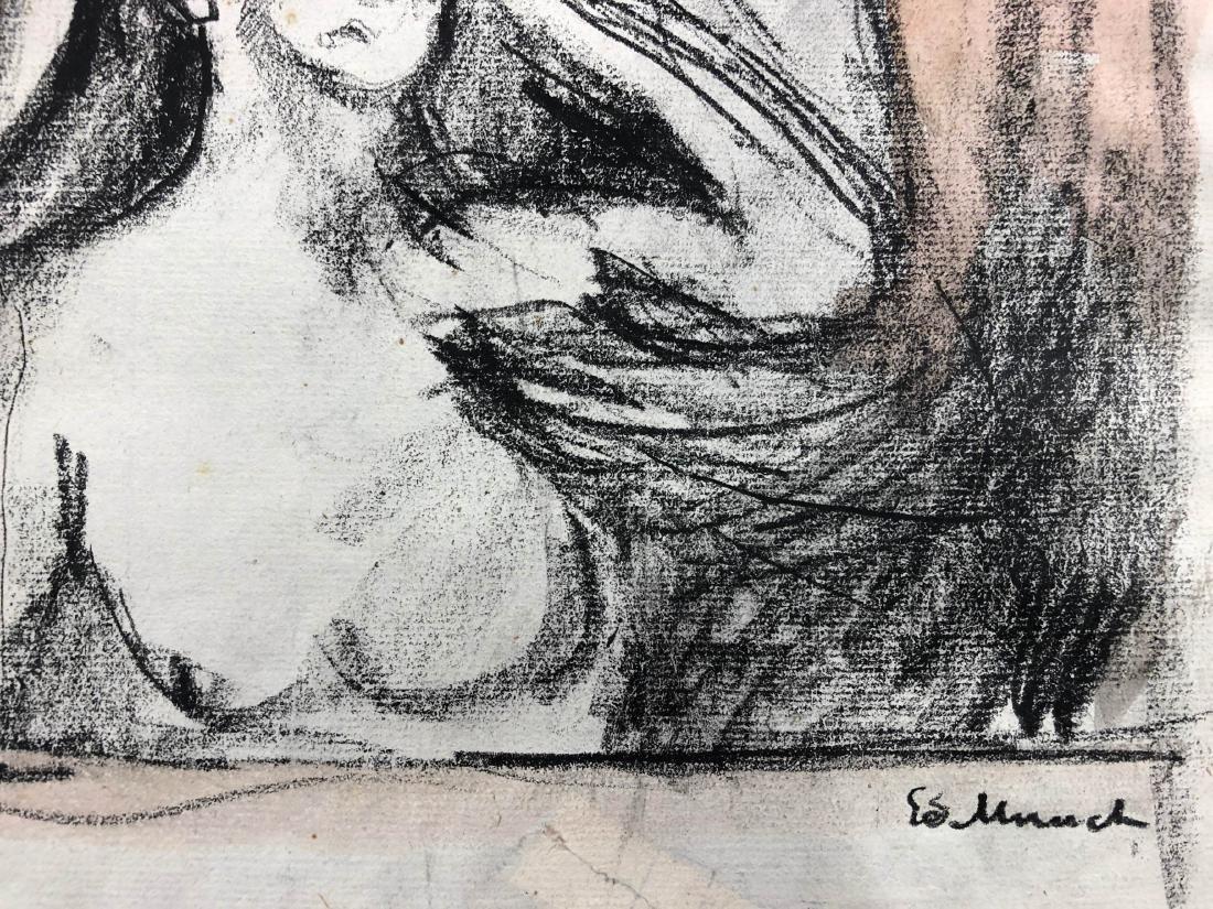 Edvard Munch (Norwegian, 1863-1944) -- Hand Drawn and - 3