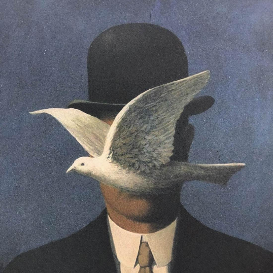 Rene Magritte (Belgian, 1898-1967) -- Hand Signed and - 2