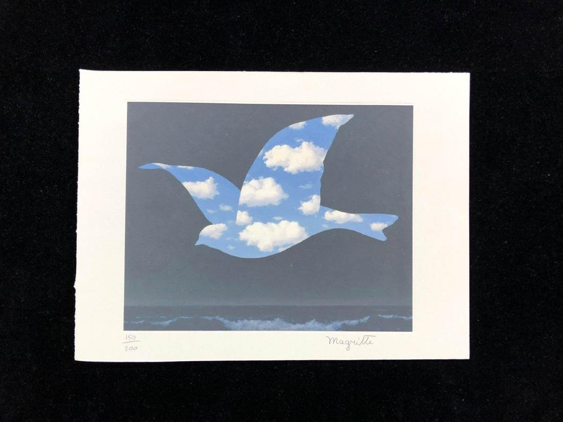 Rene Magritte (Belgian, 1898-1967) -- Sky Bird in