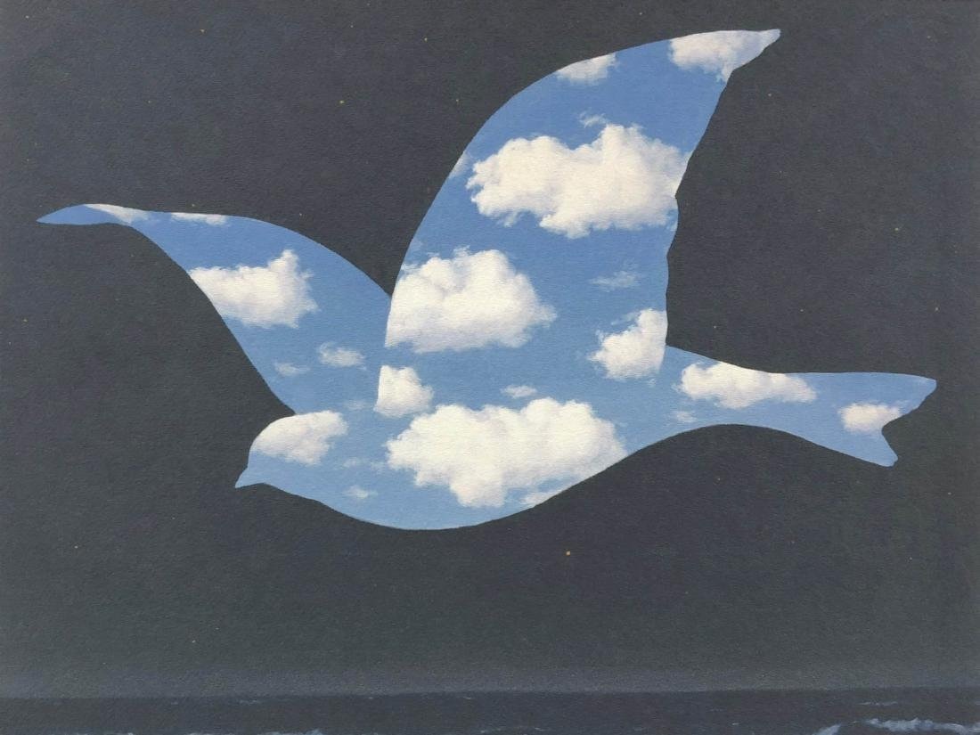 Rene Magritte (Belgian, 1898-1967) -- Sky Bird in - 2