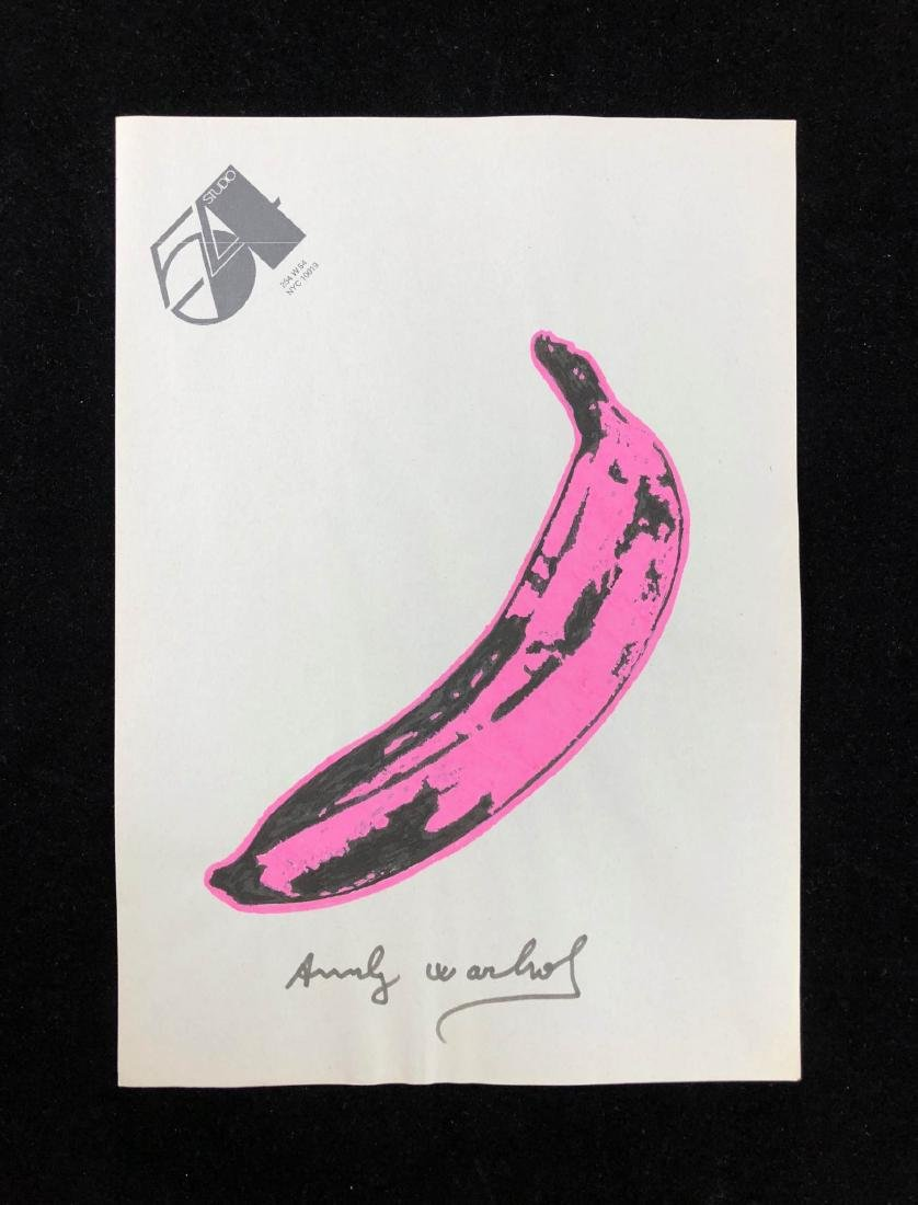 Andy Warhol (American, 1928-1987) -- Hand Drawn Neon