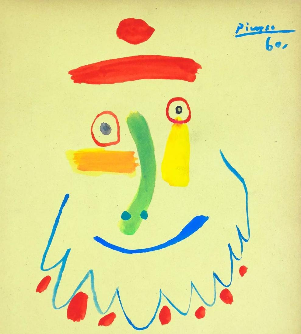 Pablo Picasso (Spanish, 1881-1973) -- Hand-Painted - 2