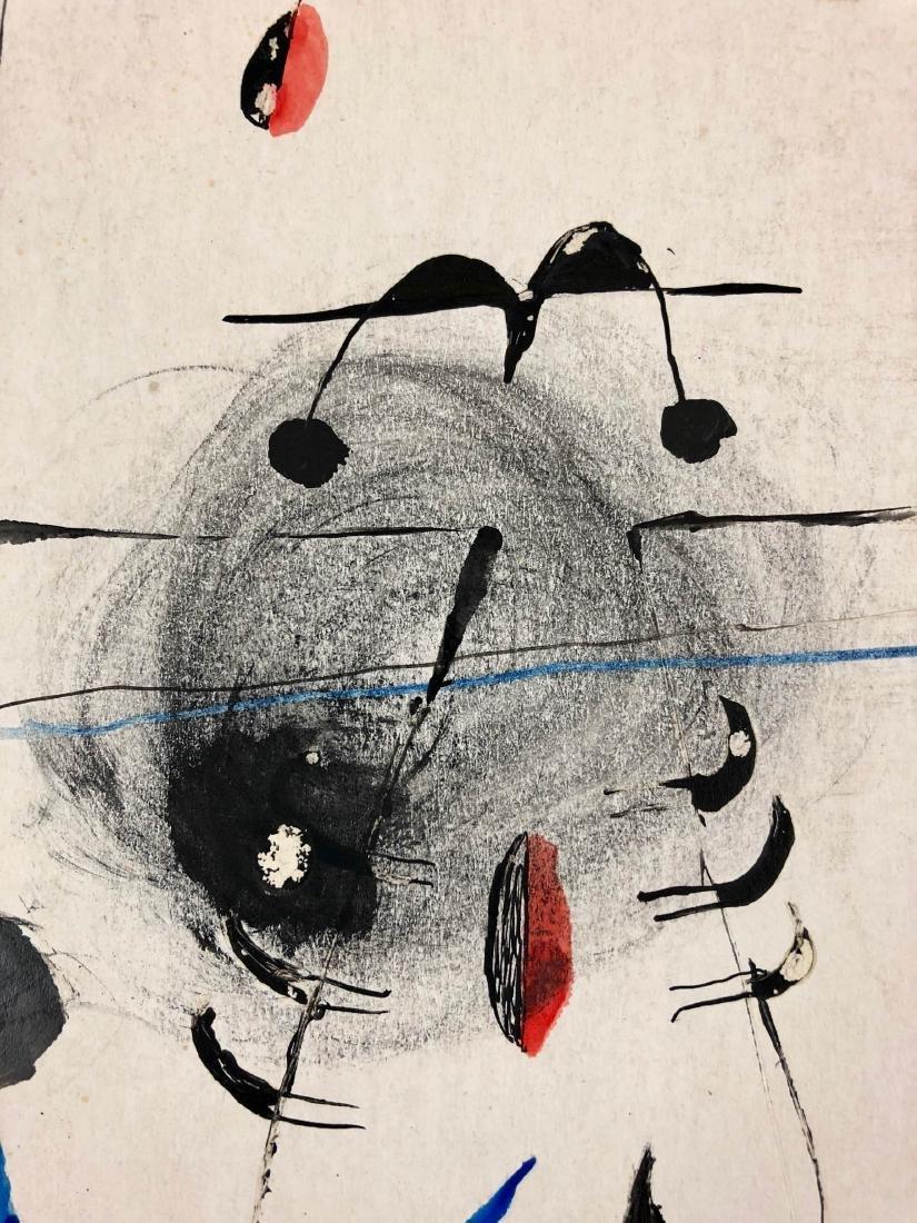 Joan Miro (Spanish, 1893-1973) -- Hand-Painted Mixed - 3