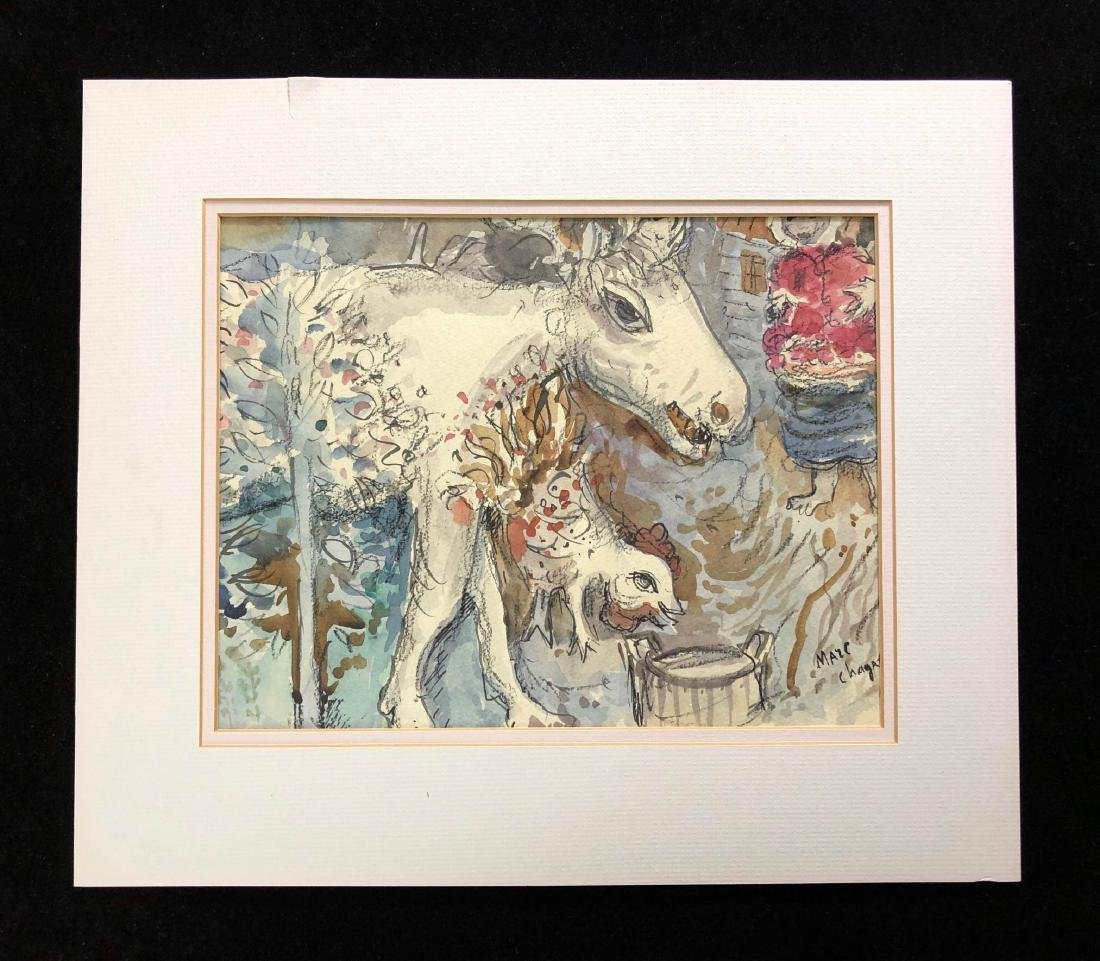 Marc Chagall (Russian-French, 1887-1985) -- Hand Signed