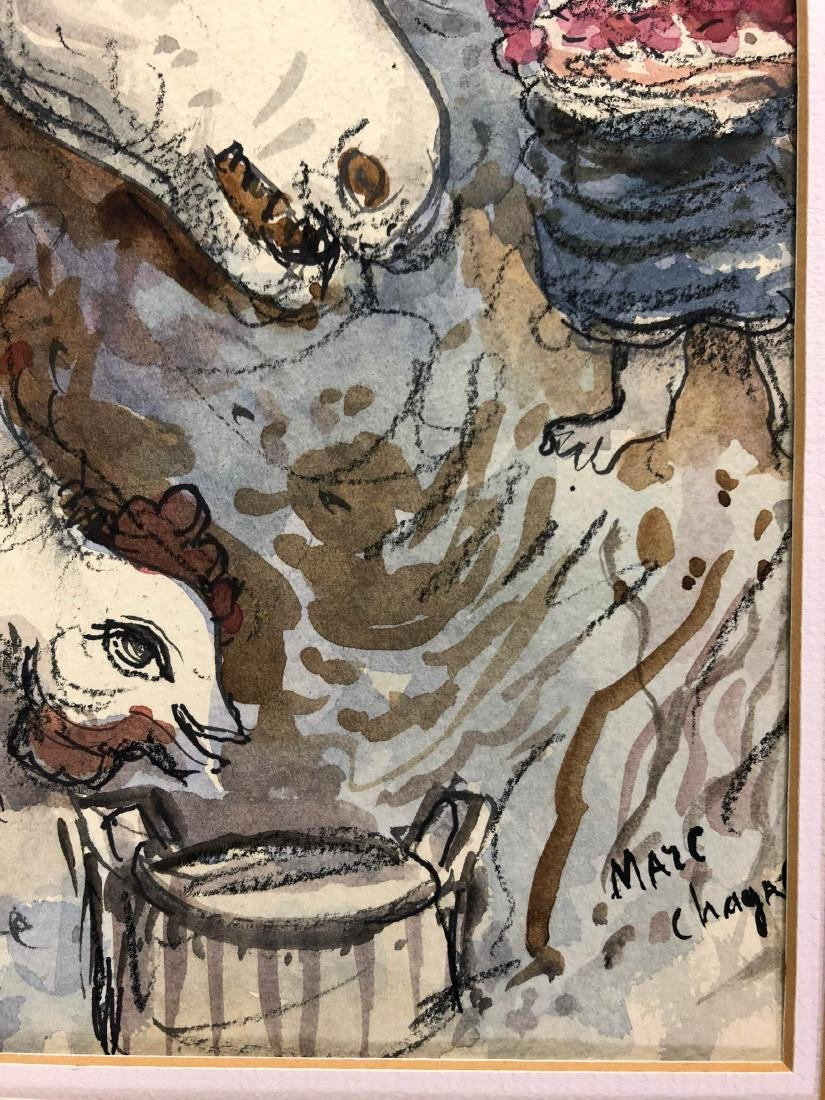 Marc Chagall (Russian-French, 1887-1985) -- Hand Signed - 4