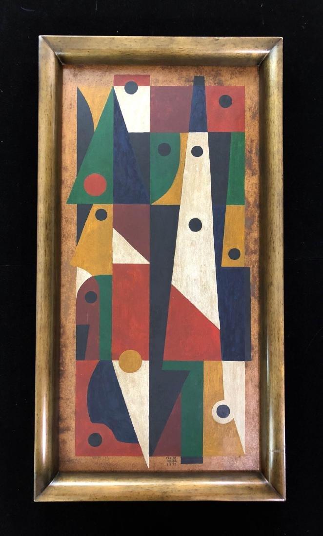 Carlos Merida (Guatemalan, 1891-1984) Hand Painted