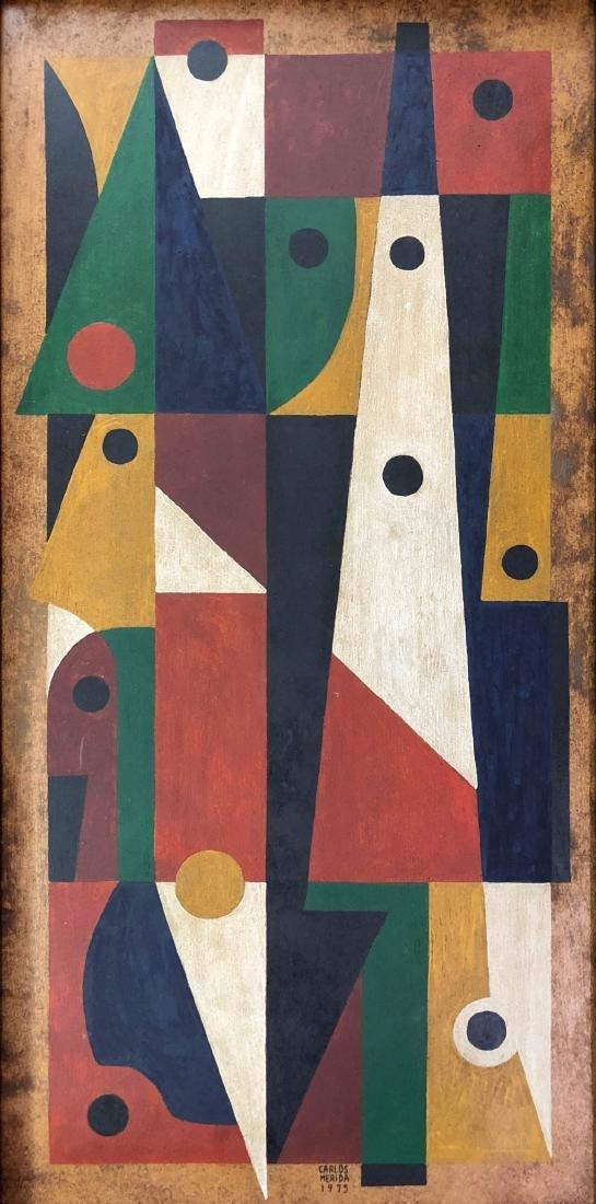 Carlos Merida (Guatemalan, 1891-1984) Hand Painted - 2