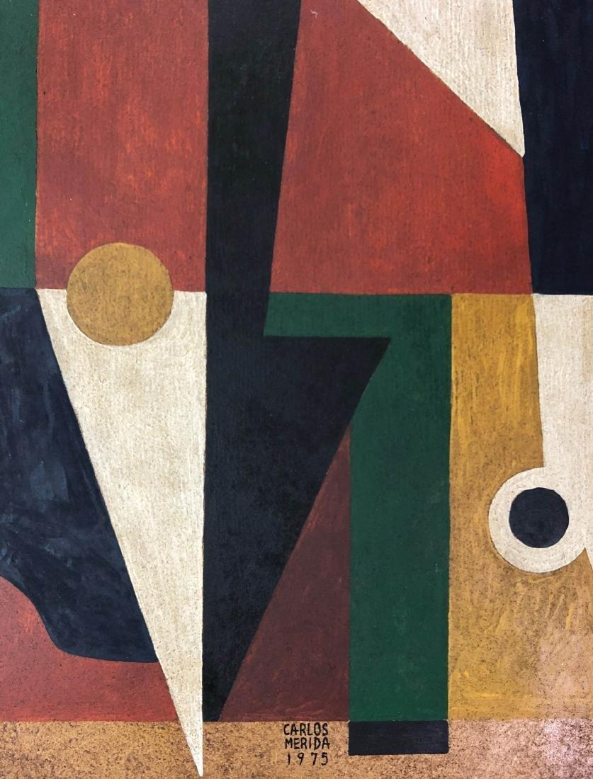 Carlos Merida (Guatemalan, 1891-1984) Hand Painted - 3