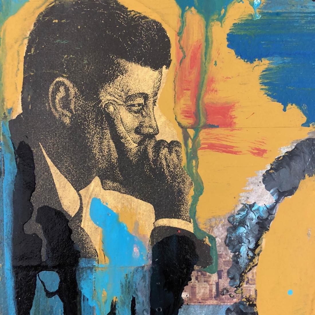 Robert Rauchenberg (American, 1925 - 2008) -- Hand - 3
